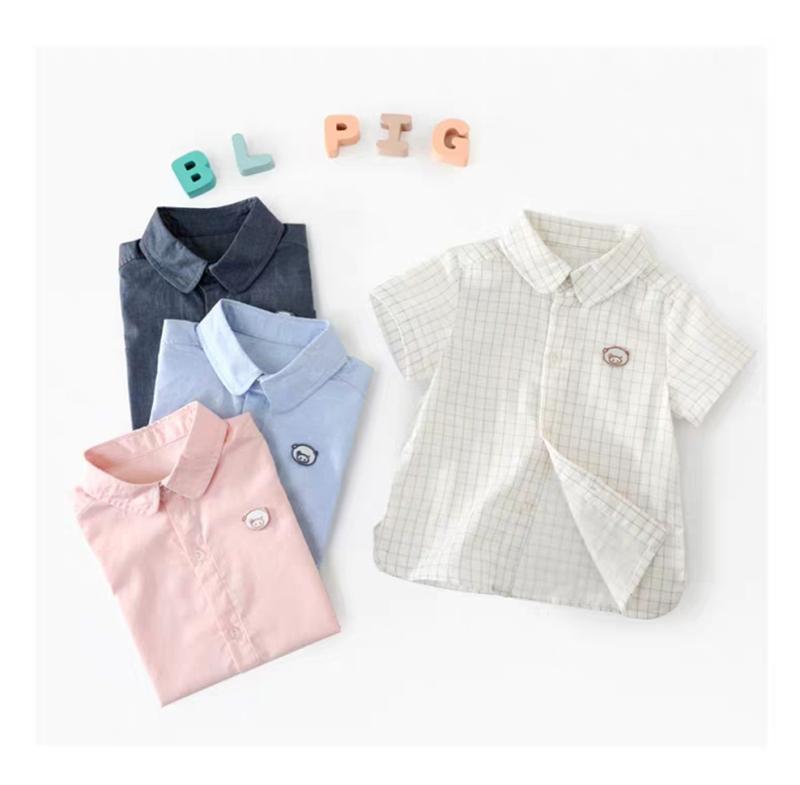 儿童衬衣2019夏装新款