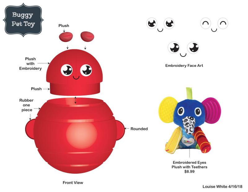 虫子造型宠物玩具