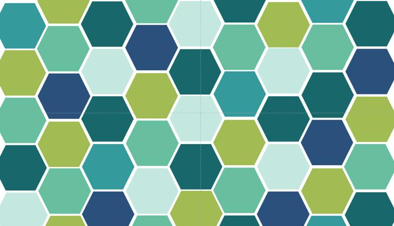 几何图案面料设计