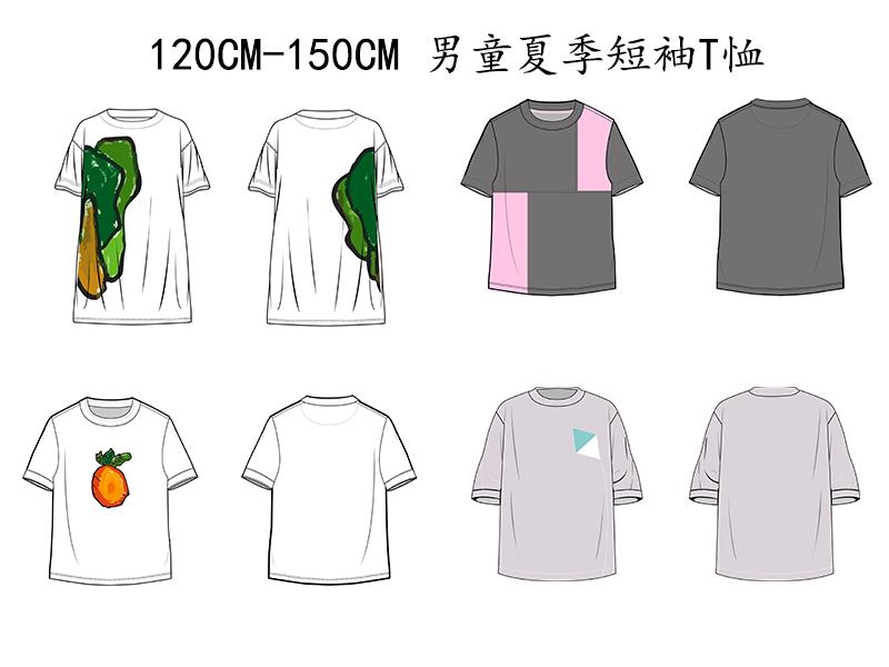 男童夏季短袖T恤