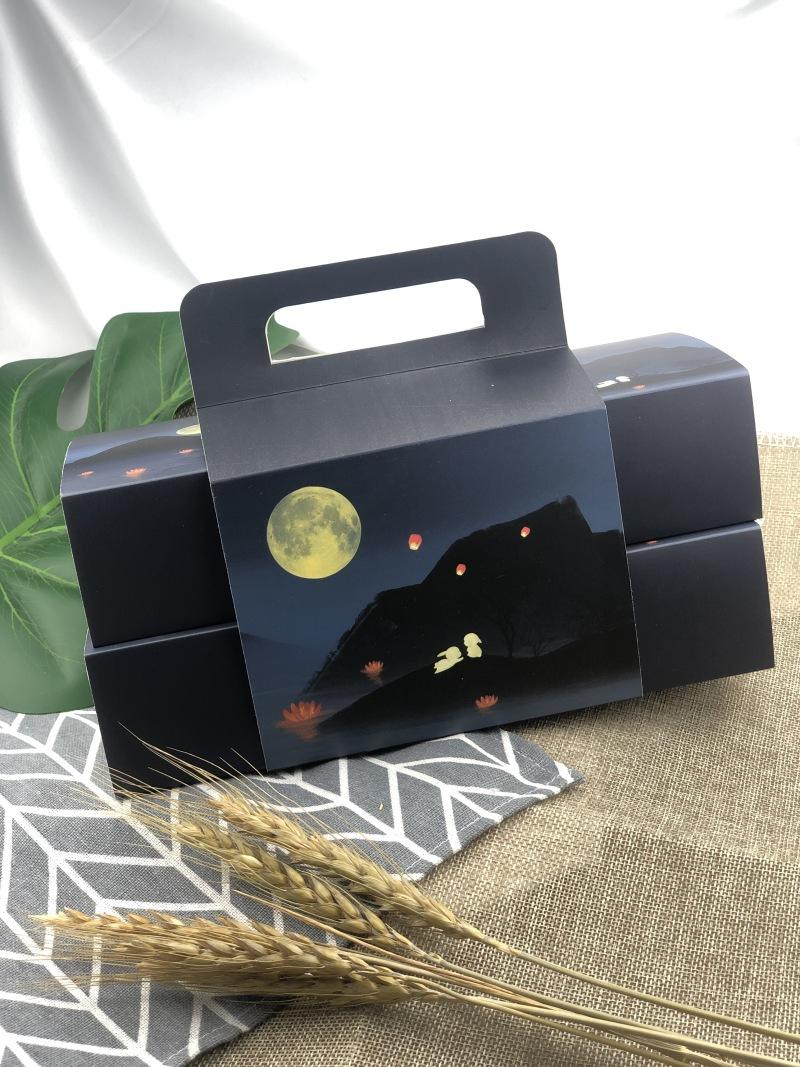手提月饼礼盒