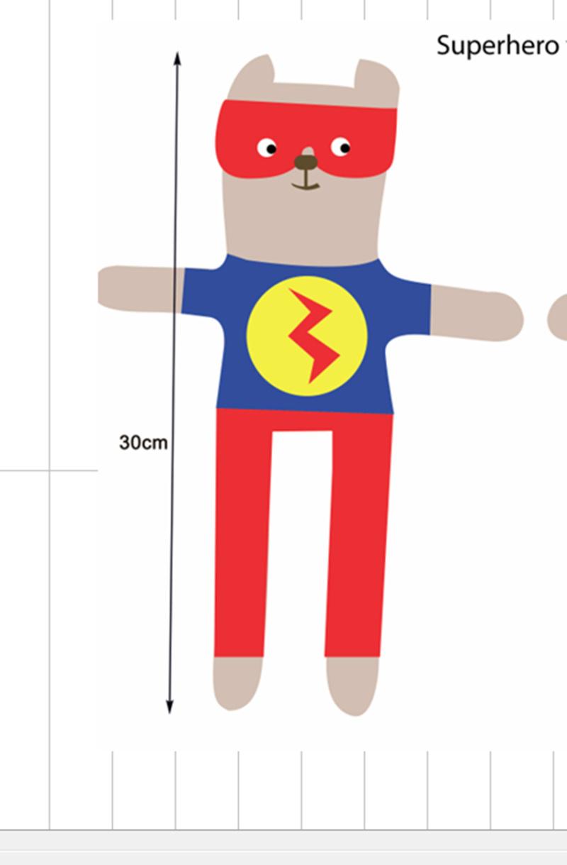 超级英雄玩偶