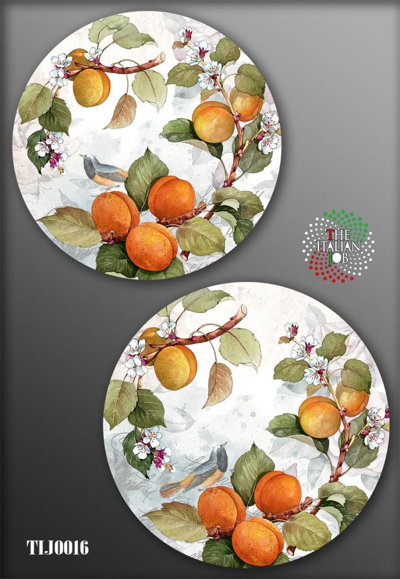 植物主题陶瓷图案设计
