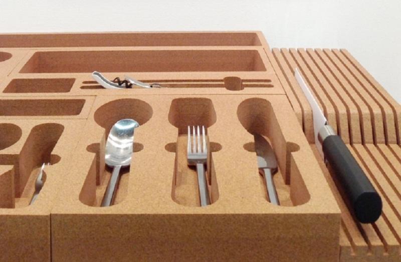 软木餐具盒设计