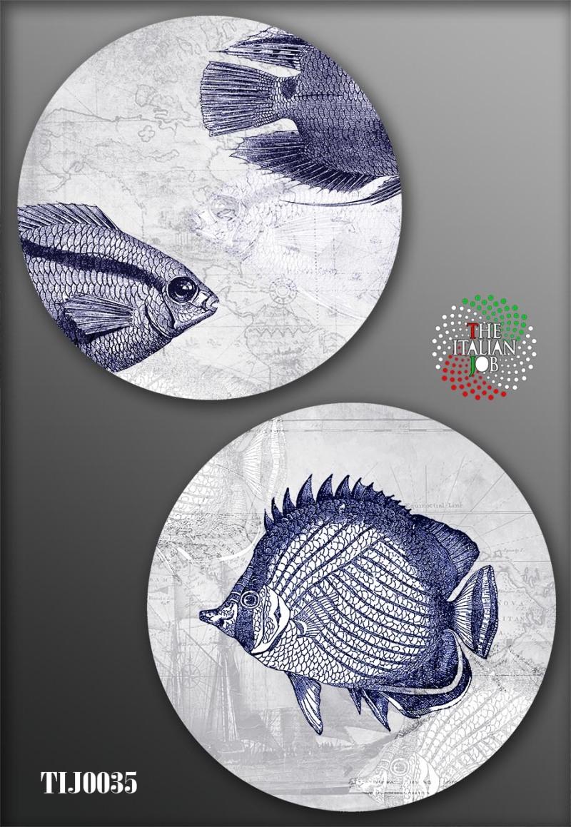 陶瓷图案海洋主题
