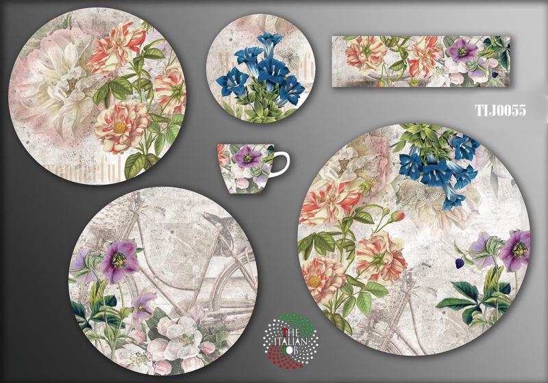 复古花卉设计