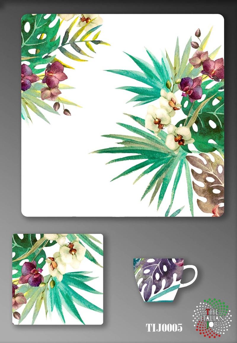 熱帶風陶瓷圖案設計