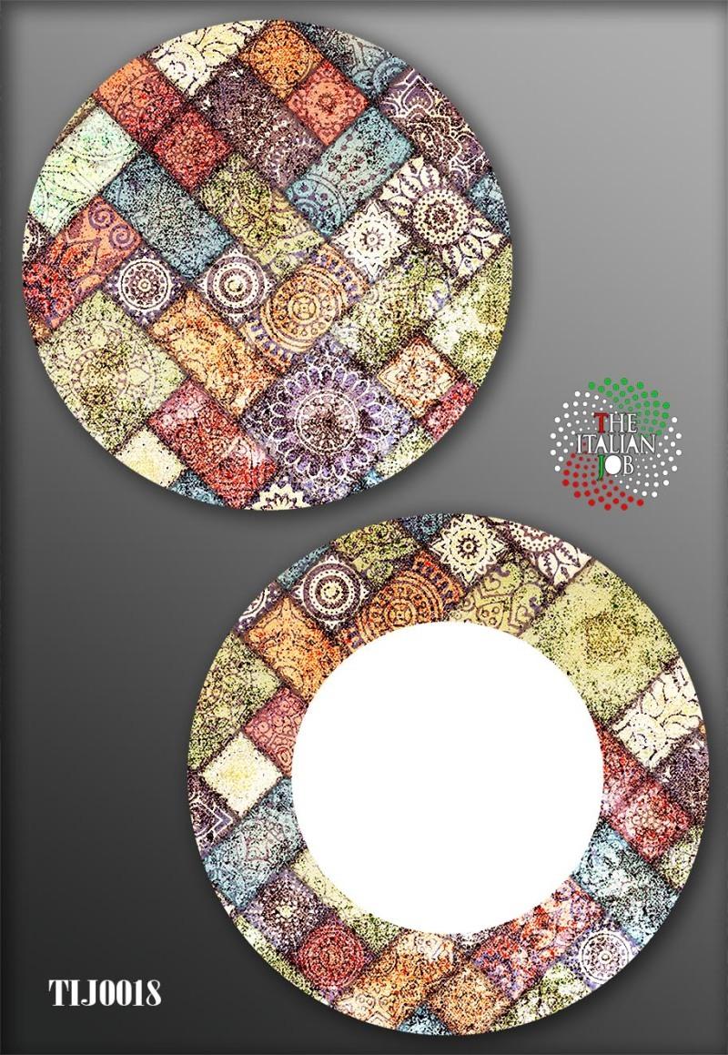 几何陶瓷图案设计