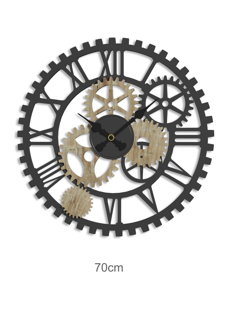 欧美齿轮结构钟