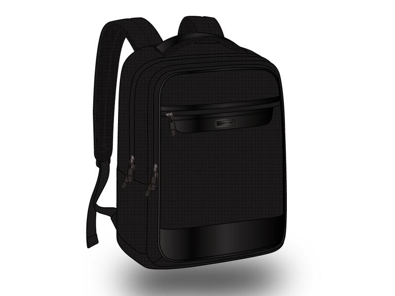 商务电脑双肩背包