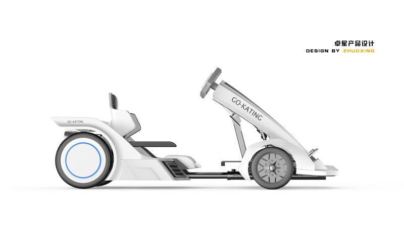 F1卡丁車設計