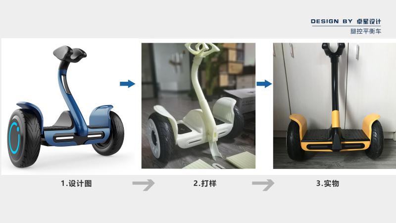 腿控平衡车