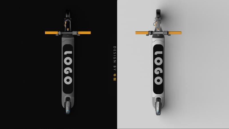 极简滑板车