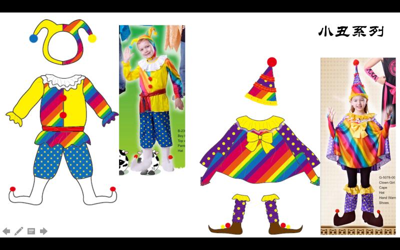 儿童造型服