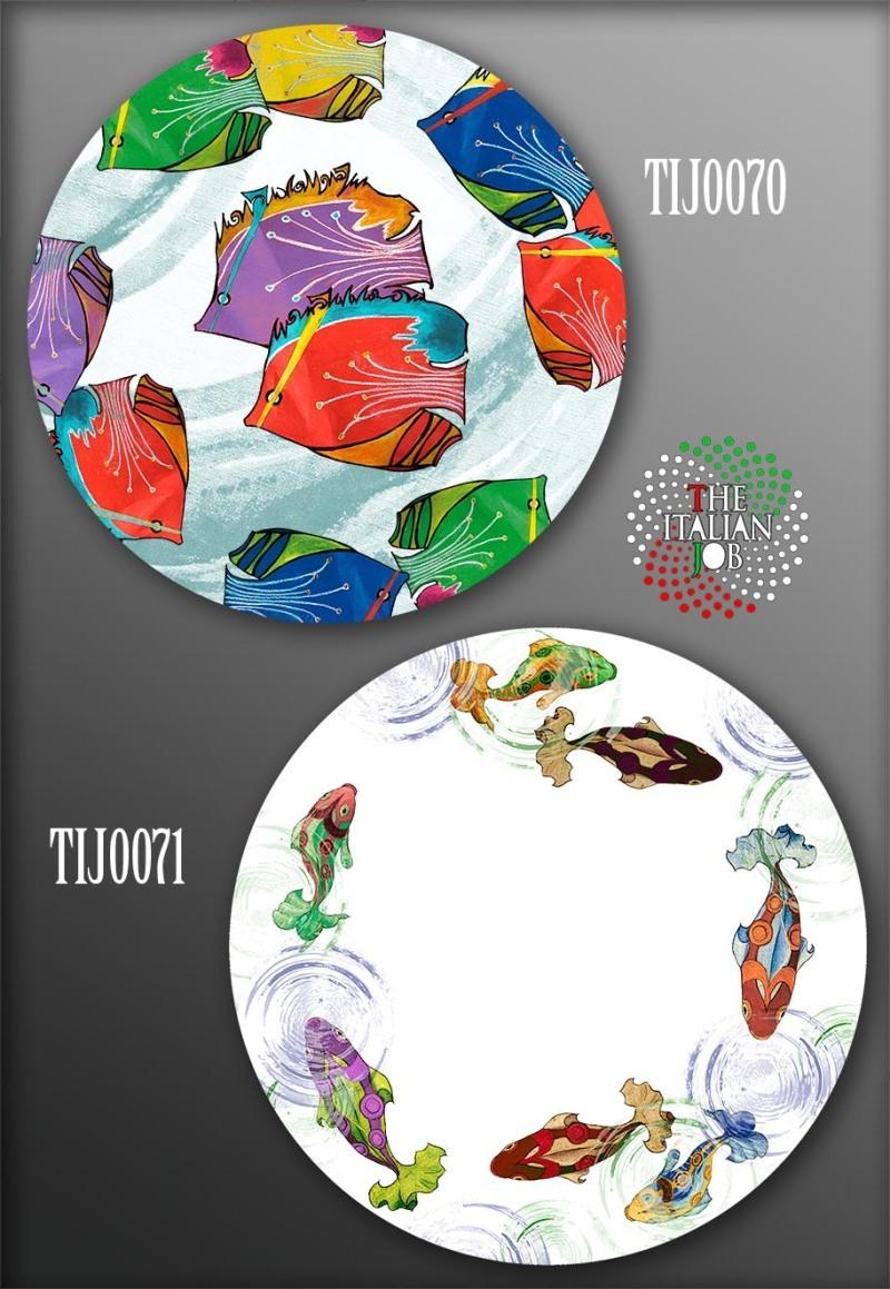 鱼类主题图案设计