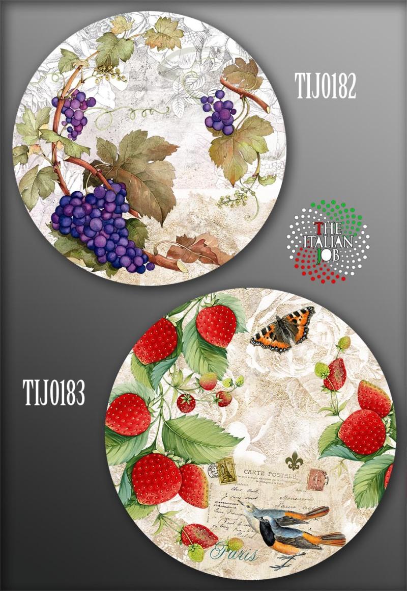 水果花卉图案