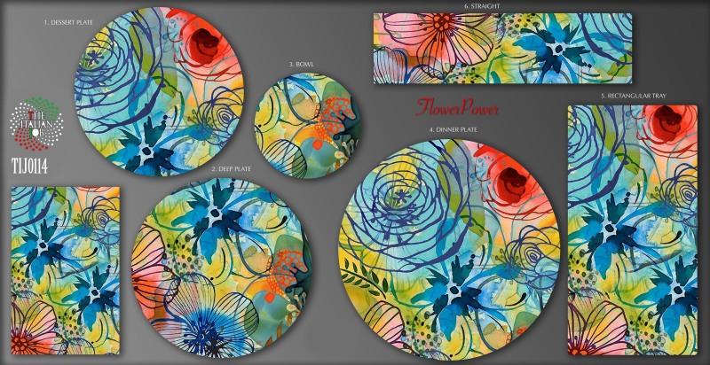 手绘花卉图案设计