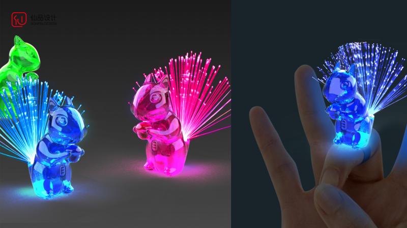 光纤灯设计