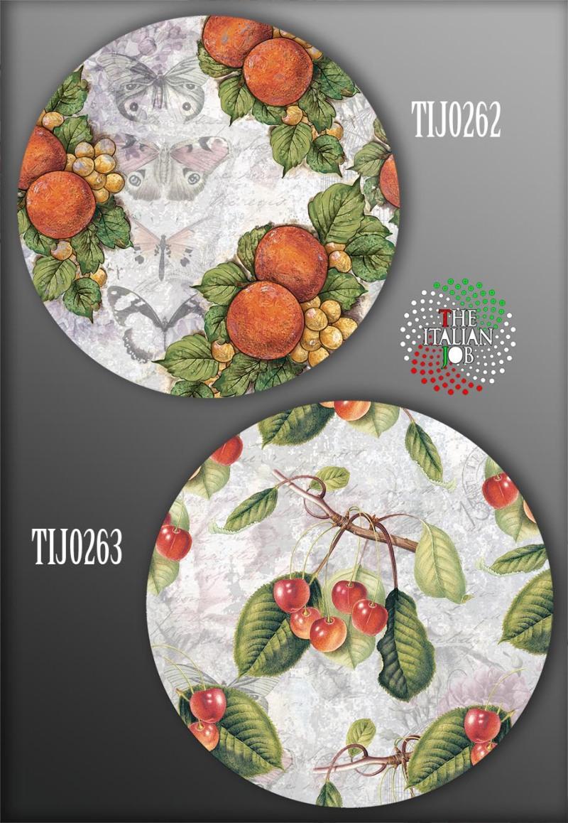水果图案陶瓷花纸设计