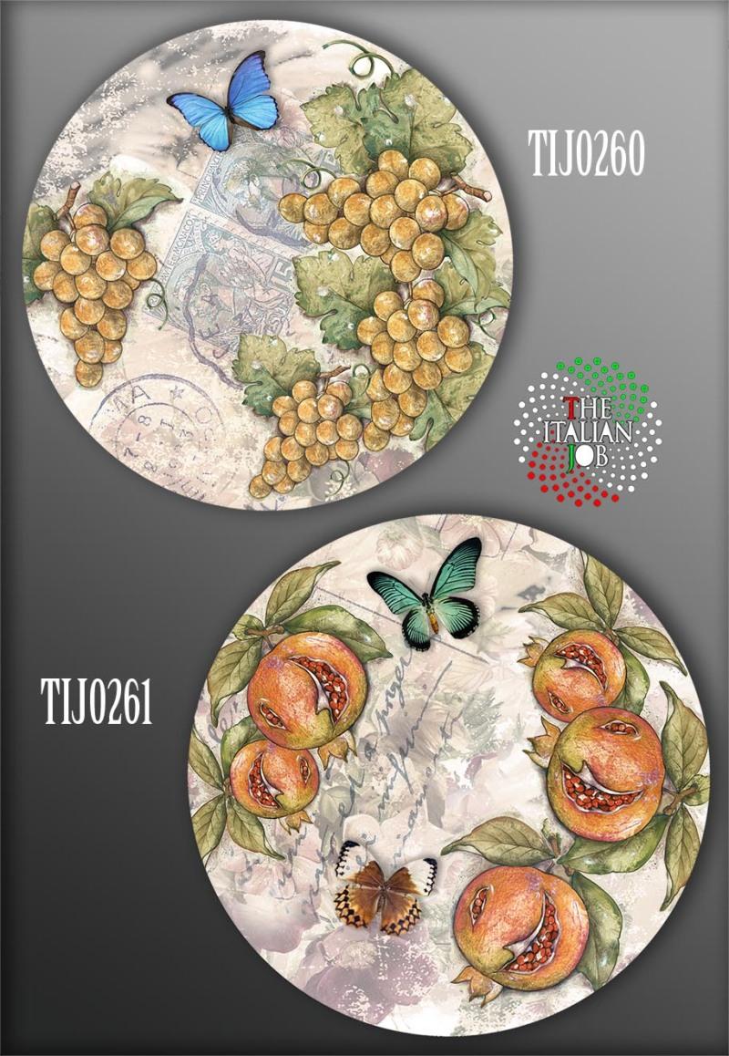 陶瓷花紙設計水果主題
