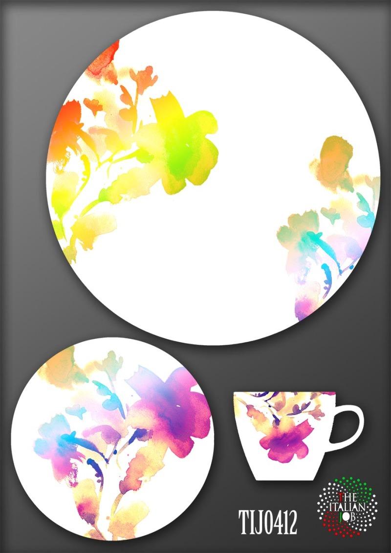 陶瓷花纸设计