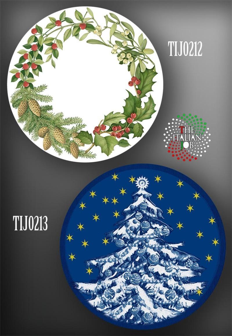 圣诞陶瓷图案