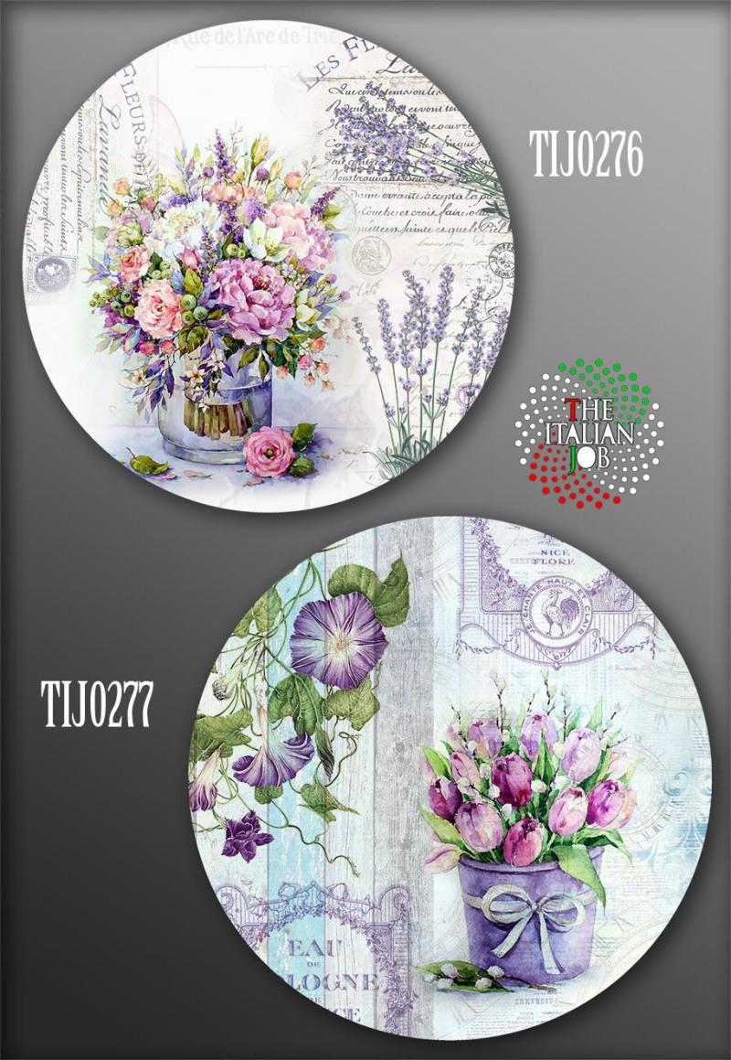 花卉陶瓷花紙設計