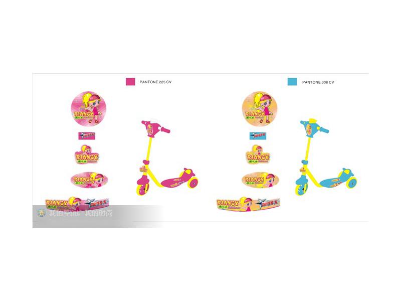 儿童车配色标贴及图案设计