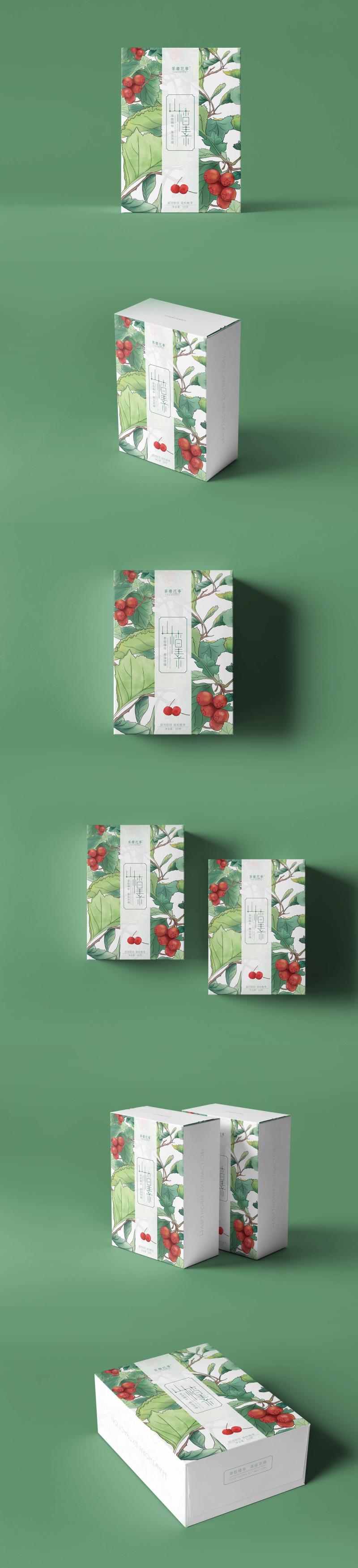 山楂素包裝設計