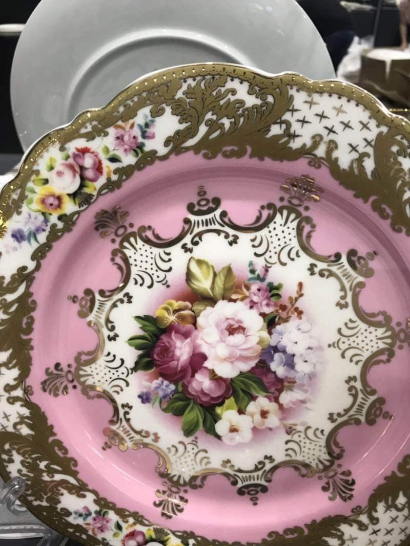 欧式花卉餐具