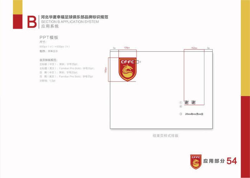 河北华夏幸福足球俱乐部VI设计
