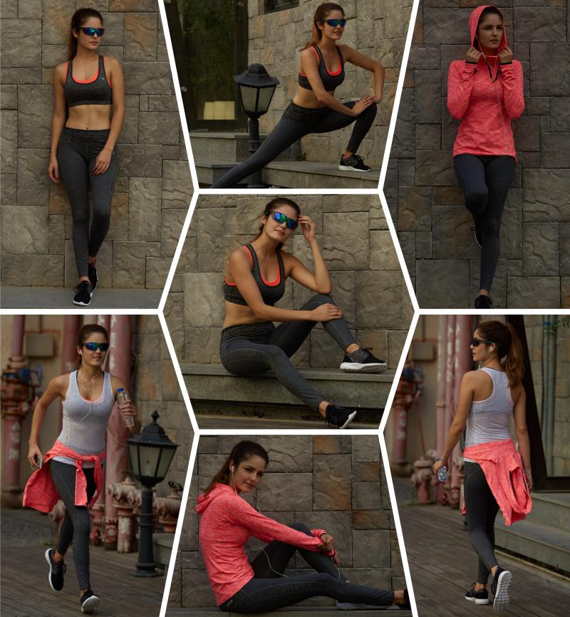 女士健身瑜伽运动套装