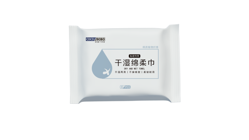 湿巾干巾产品包装设计