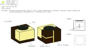 木艺琉璃几何造型多材质温茶器