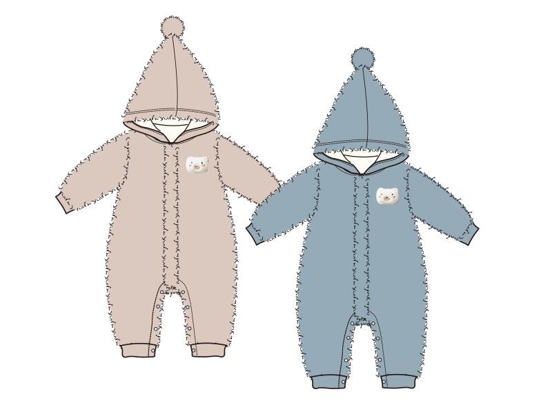 啊妙想婴儿连体衣