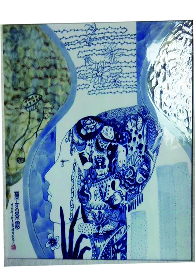 《梦系景园》瓷板装饰画
