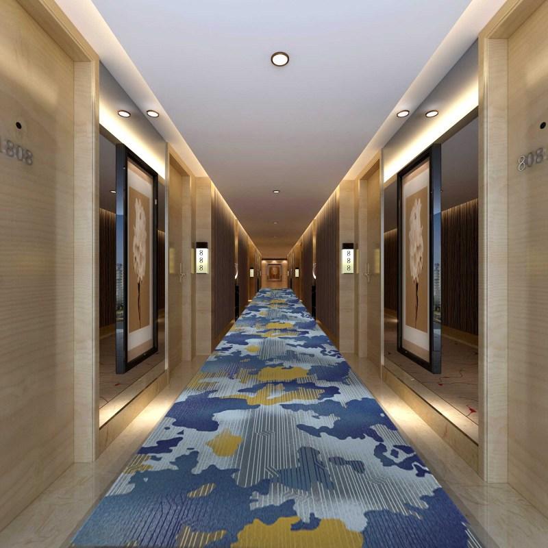 中国风水墨走道几何地毯