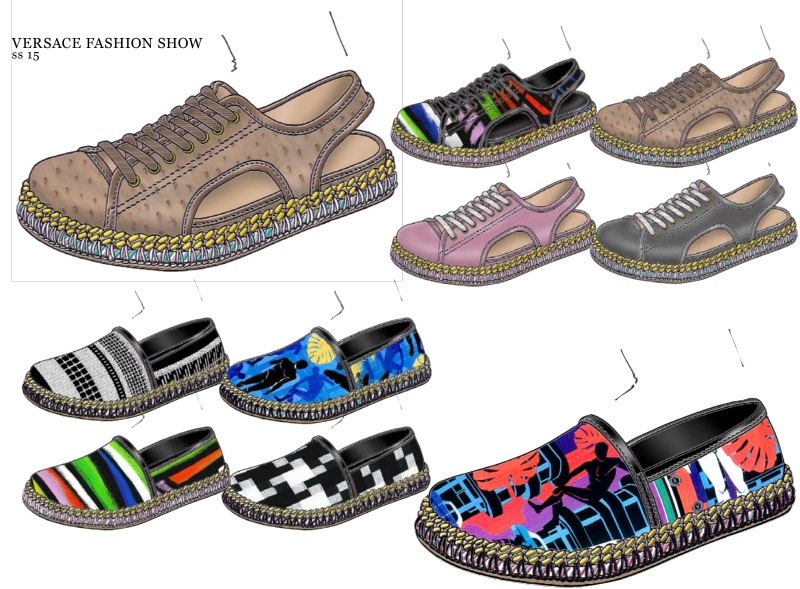 范思哲鞋履设计