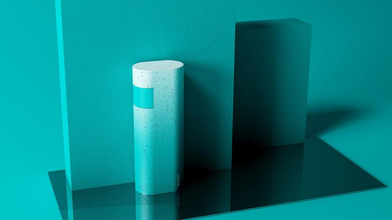 100ML便携乳液瓶设计