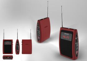 老年多功能插卡收音机