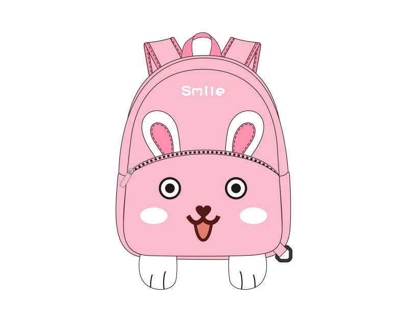 卡通小白兔儿童背包