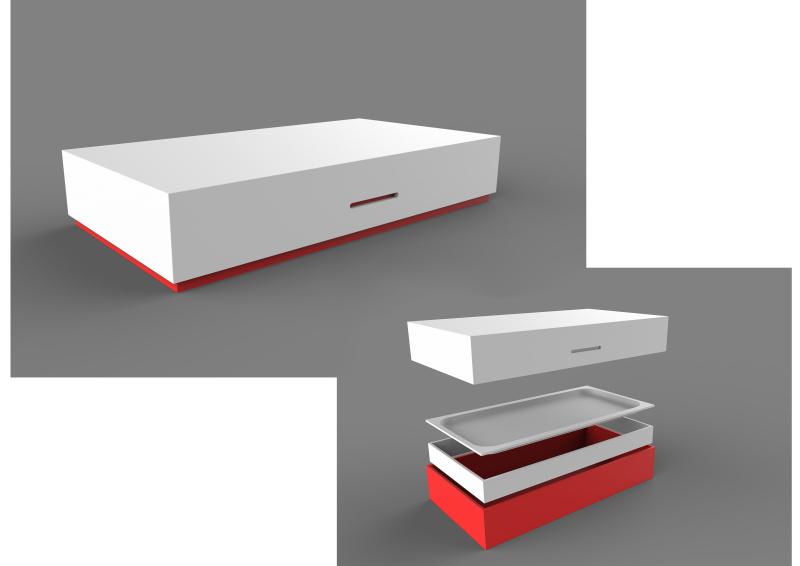 苹果专用外接电源包装盒外观