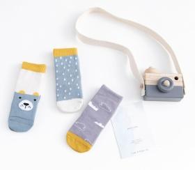 小熊雨点系列童袜