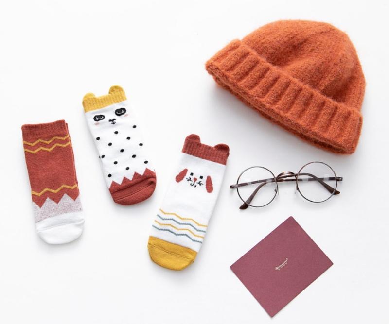 秋冬婴童袜子组合