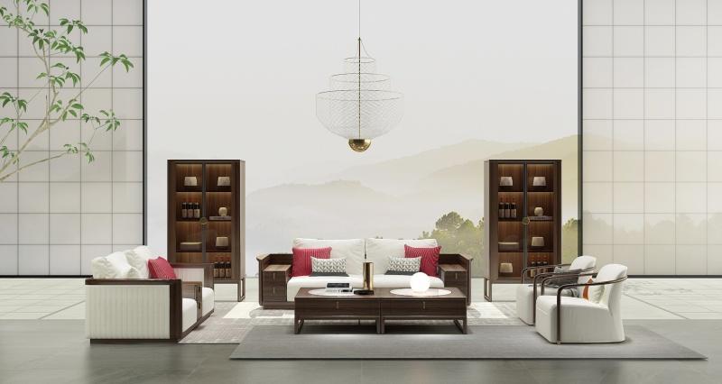 简约东方家具
