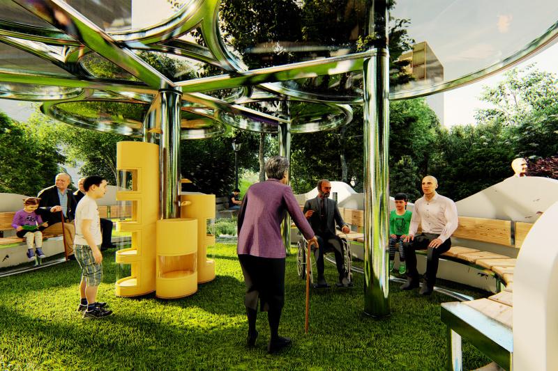 社区公共服务设施设计