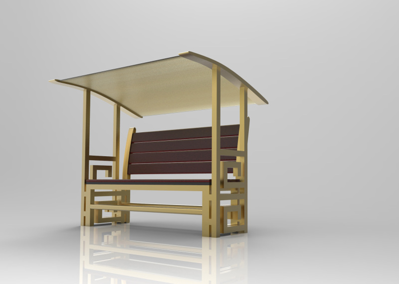 故宫户外座椅设计