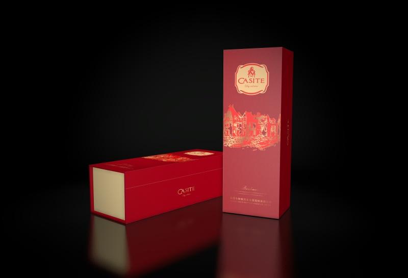 卡斯特红酒包装礼盒