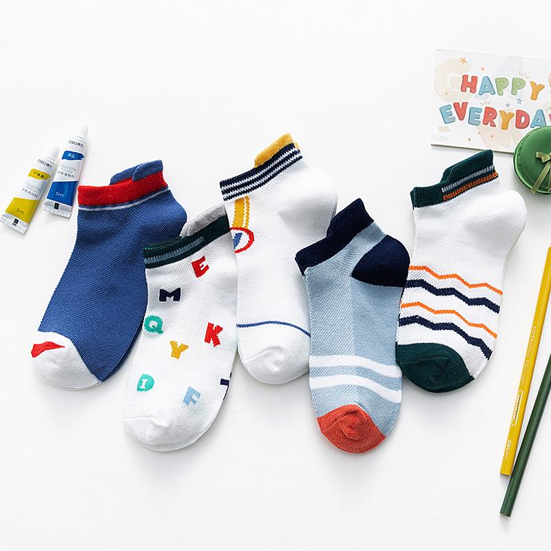 字母奖牌系列童袜