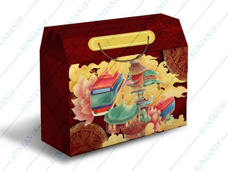 传统国潮风格礼盒外包装设计